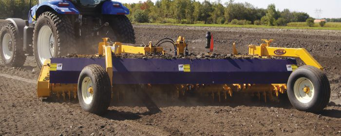 S Houle Rock Rakes & Windrowers | Beulah Machinery